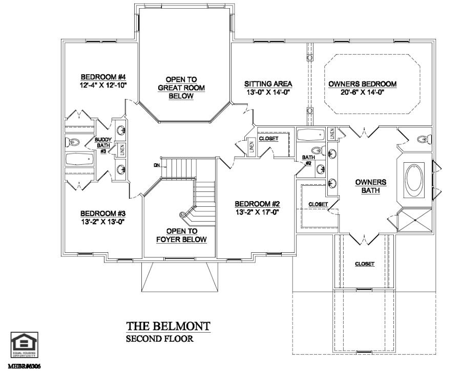 Belmont Second Floor