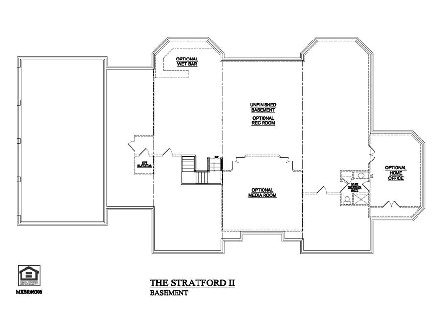 Stratford II Basement
