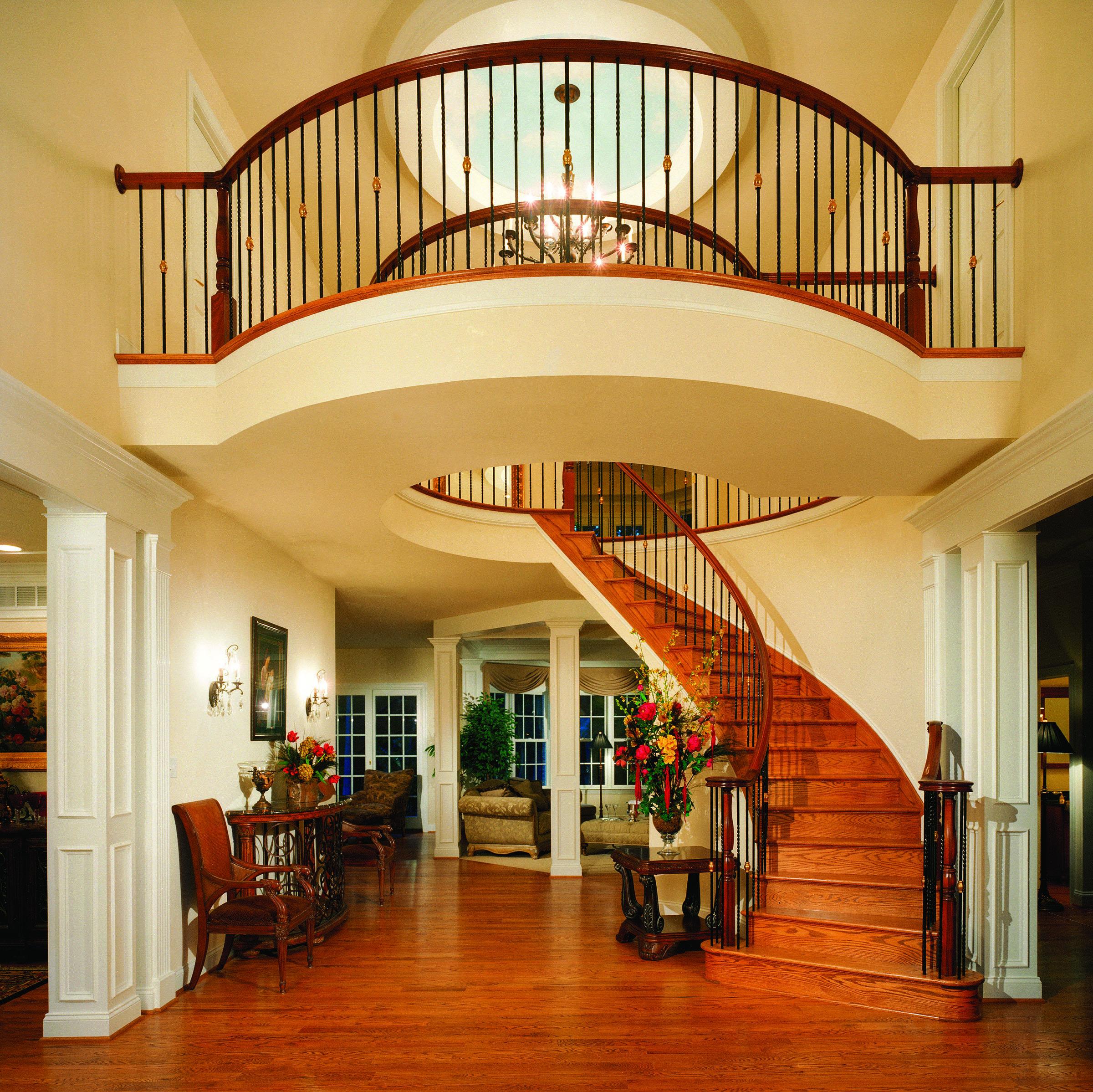 Custom Grand Entrance with Balcony