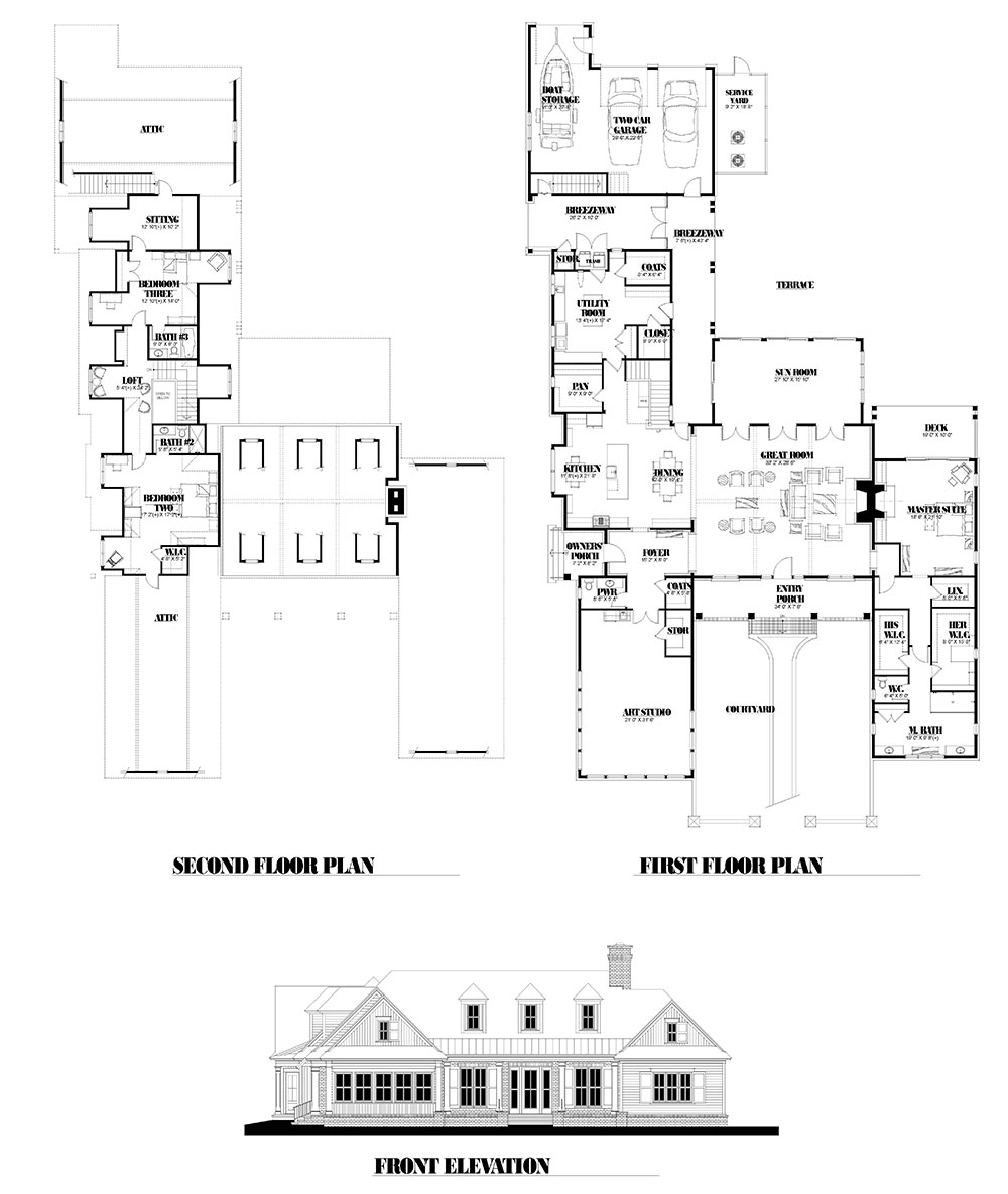 Legacy House Floorplan